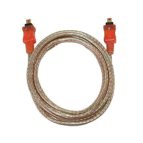 Câble de raccordement Firewire iEEE 4P/4P - 2 mètres