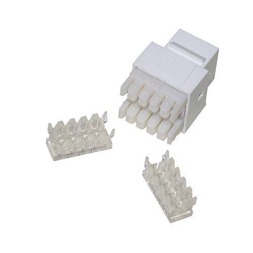 Keystone Insert in White 6-Piece