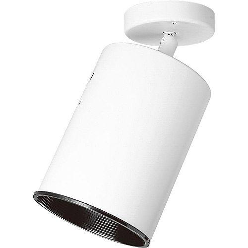 Progress Lighting 250W 1-Light White Spotlight Fixture