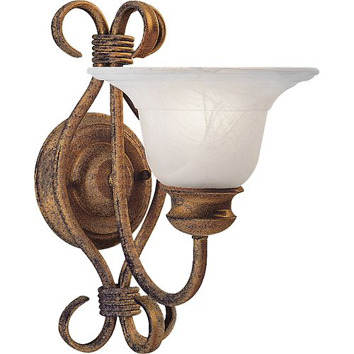 Masira Collection Golden Umber 1-light Wall Bracket