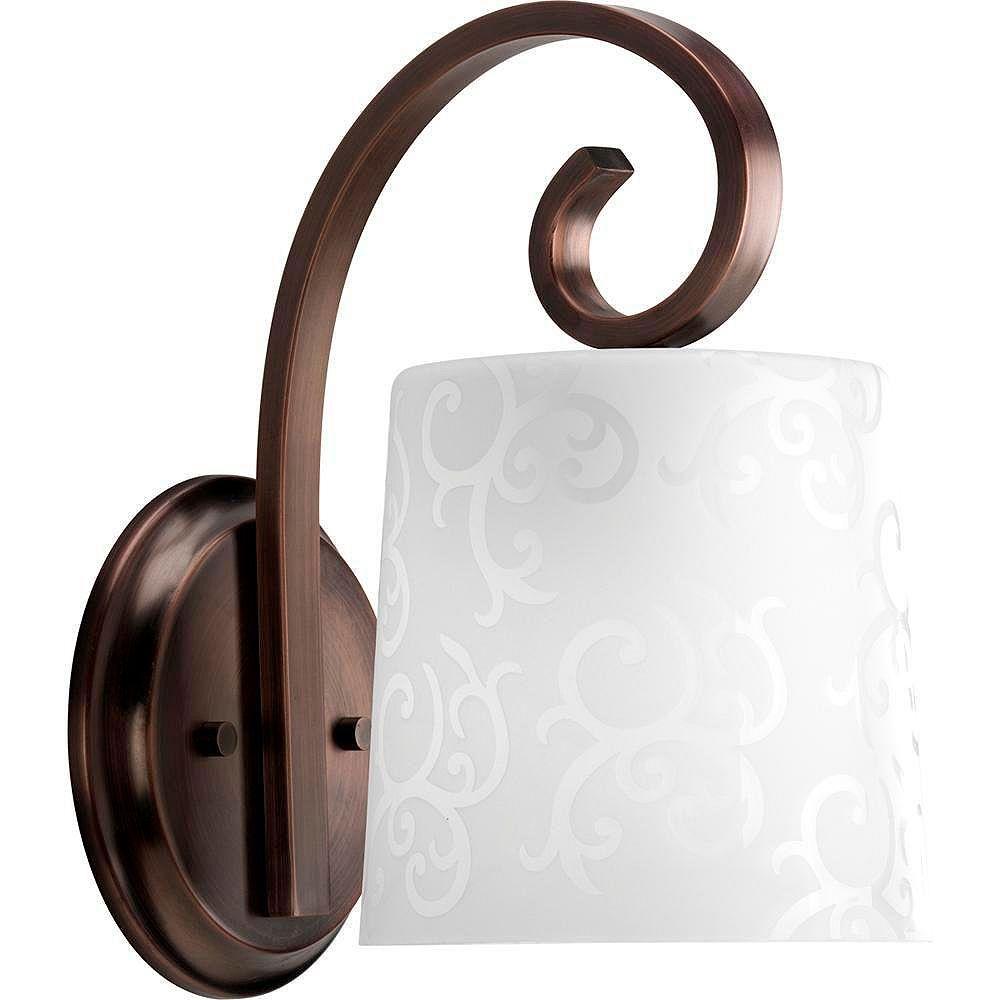 Progress Lighting Nicollette Collection Copper Bronze 1-light Wall Bracket