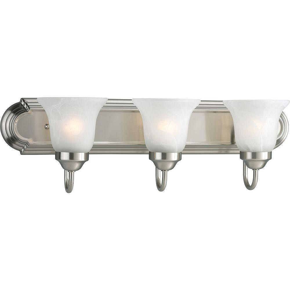Progress Lighting Brushed Nickel 3-light Wall Bracket