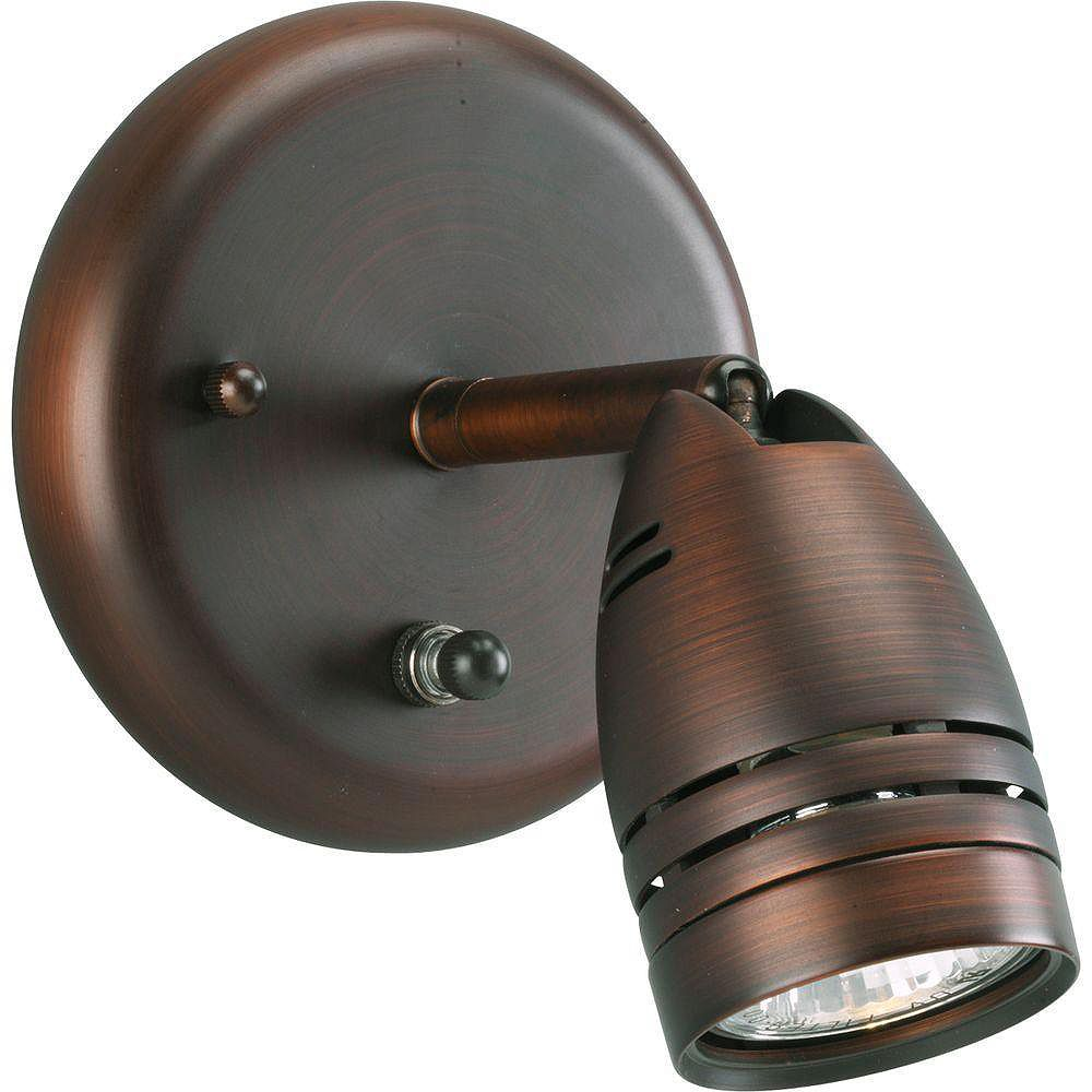 Progress Lighting Urban Bronze 1-light Spotlight Fixture