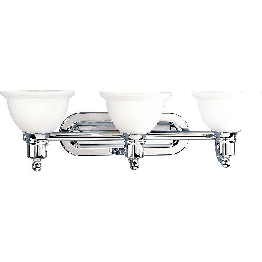 Progress Lighting Madison Collection Polished Chrome 3-light Wall Bracket