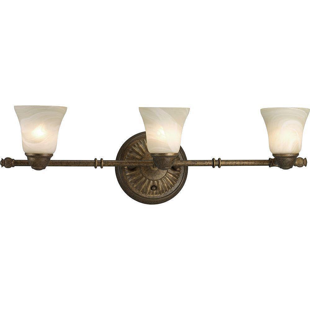 Progress Lighting Mini suspension à 1 Lumière, Collection New Bedford - fini Bronze à l'Ancienne
