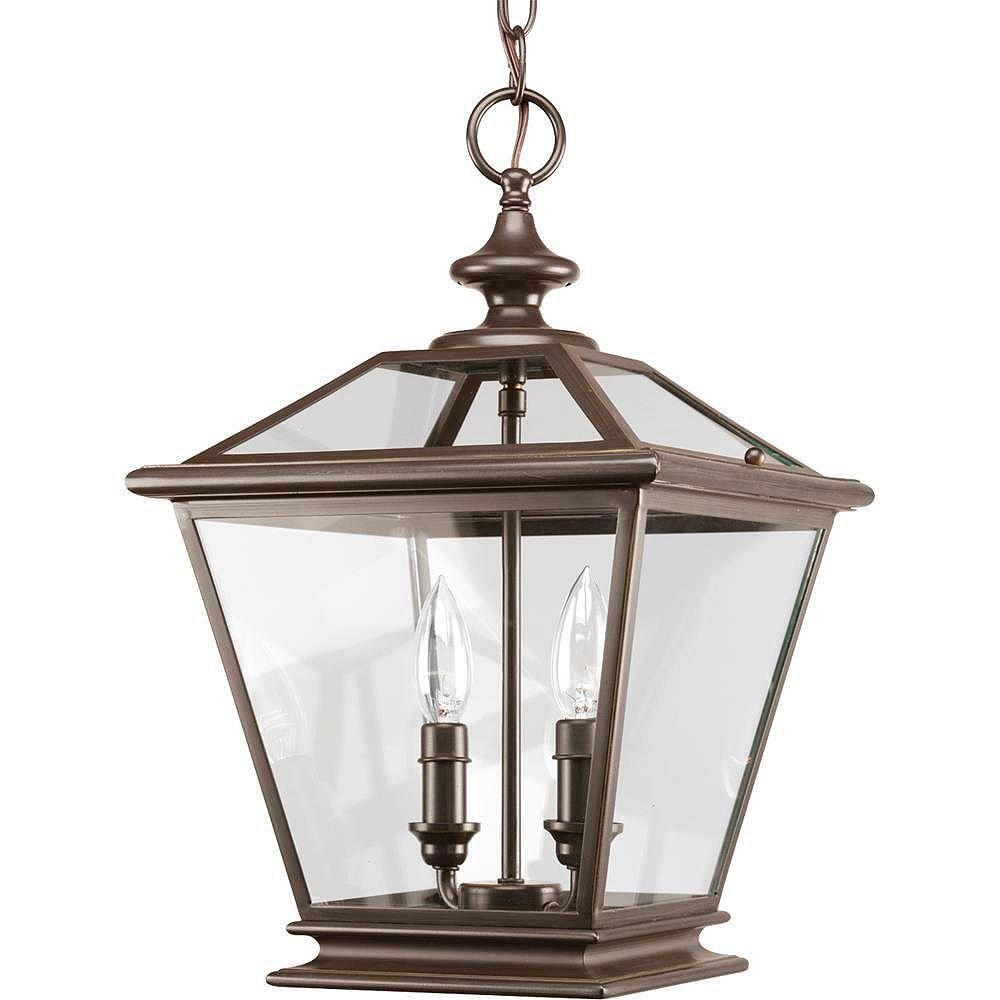 Progress Lighting Crestwood Collection Antique Bronze 2-light Foyer Pendant