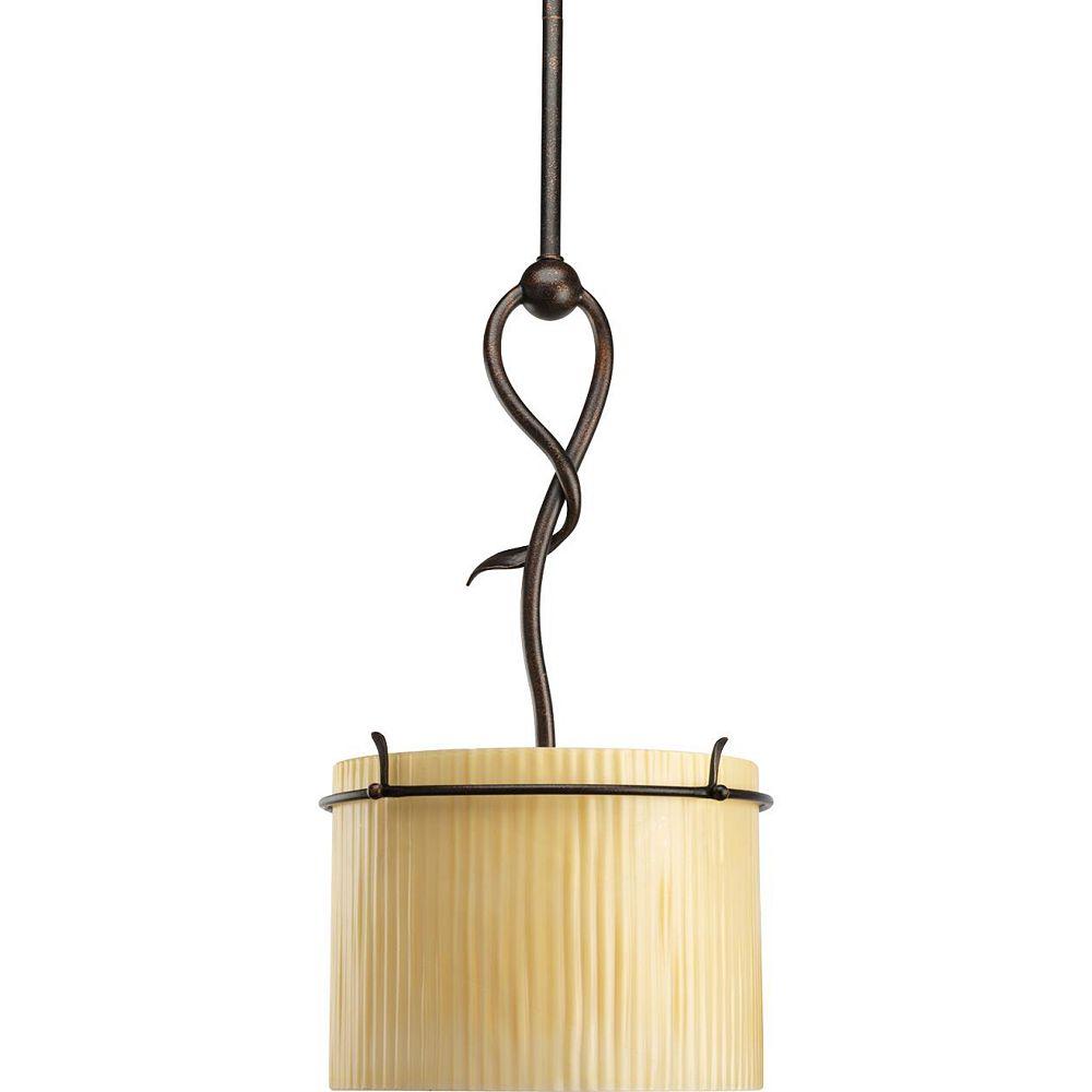 Thomasville Lighting Willow Creek Collection Weathered Auburn 1-light Mini-Pendant
