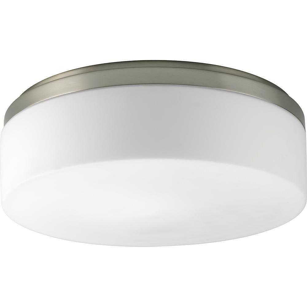 Progress Lighting Maier Collection Brushed Nickel 2-light Flushmount