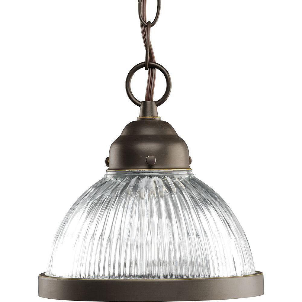 Progress Lighting Antique Bronze 1-light Mini-Pendant