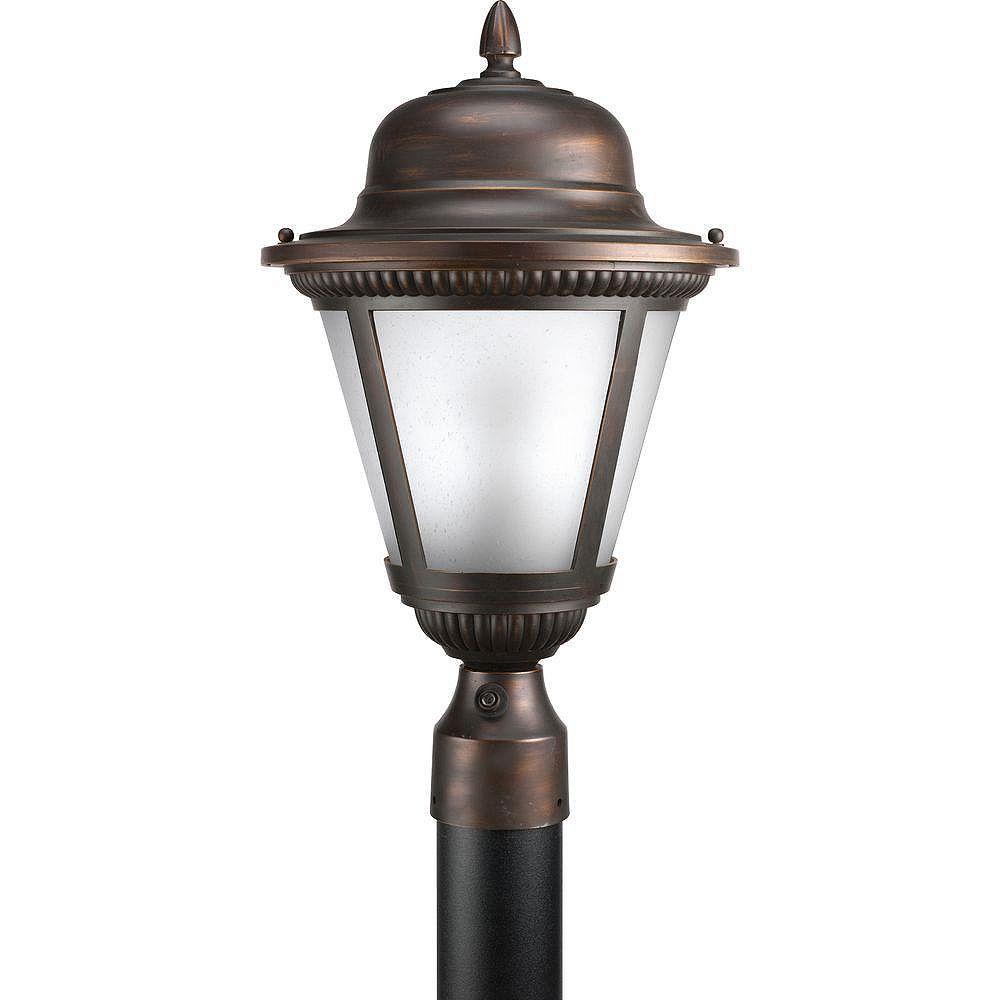 Progress Lighting Westport Collection Antique Bronze 1-light Fluorescent Post Lantern