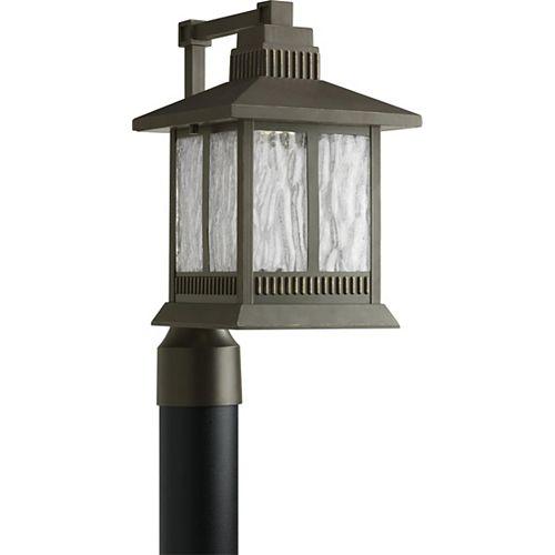 Lampadaire à 1 Lumière, Collection Greenridge - fini Bronze à l'Ancienne