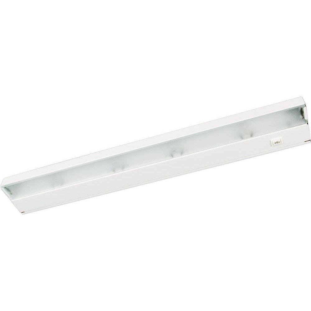 Progress Lighting CounterBrite-X White 4-light Undercabinet Fixture