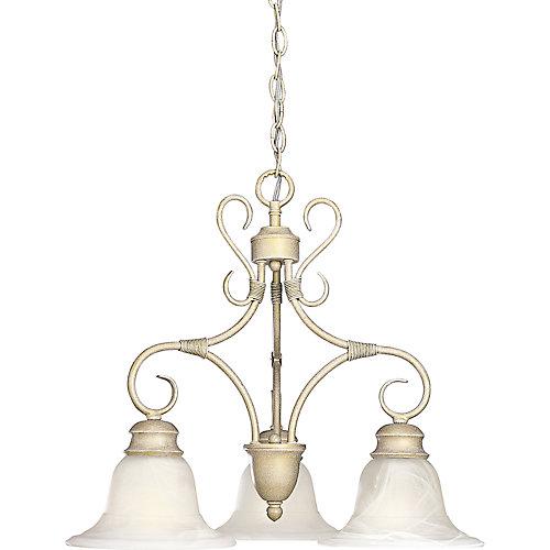 Masira Collection Venetian Gold 3-light Chandelier