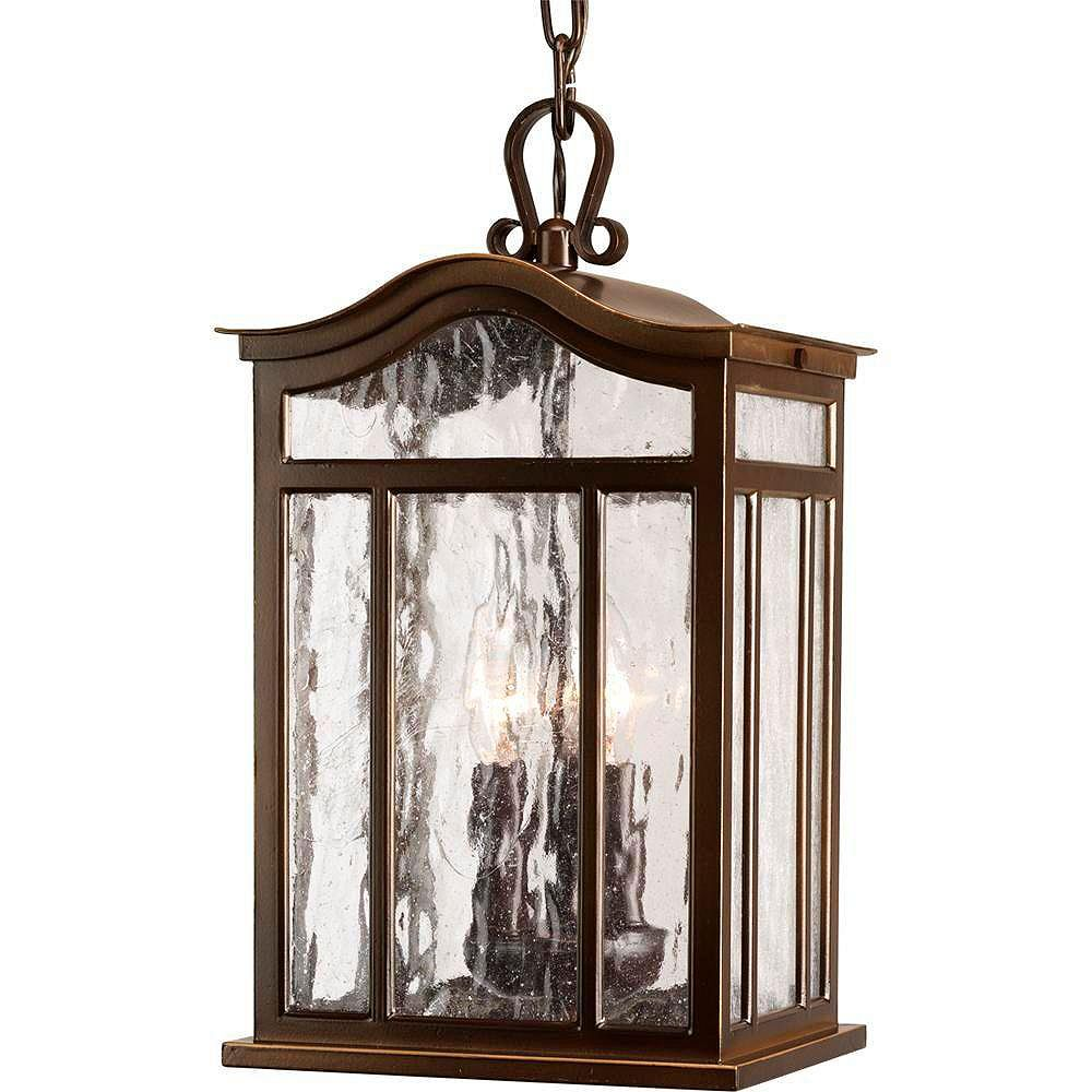 Progress Lighting Meadowlark Collection Oil Rubbed Bronze 3-light Hanging Lantern