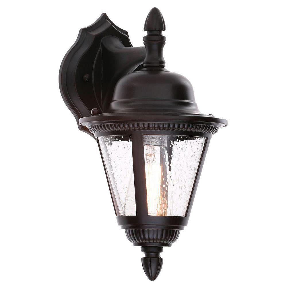 Progress Lighting Westport Collection 1-Light Antique Bronze Outdoor Wall Lantern