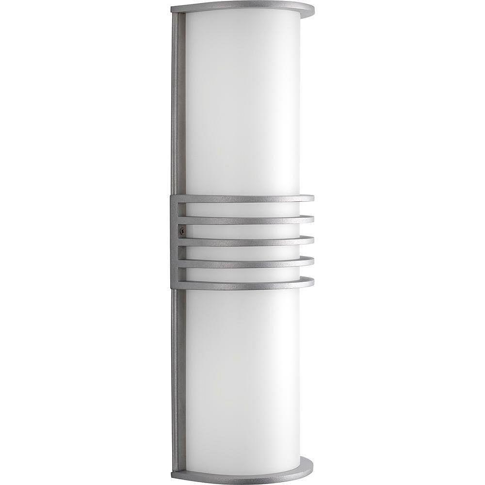Progress Lighting Parker Collection Satin Aluminum 2-light Wall Lantern