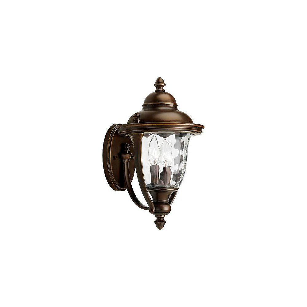 Progress Lighting Prestwick Collection Oil Rubbed Bronze 2-light Wall Lantern