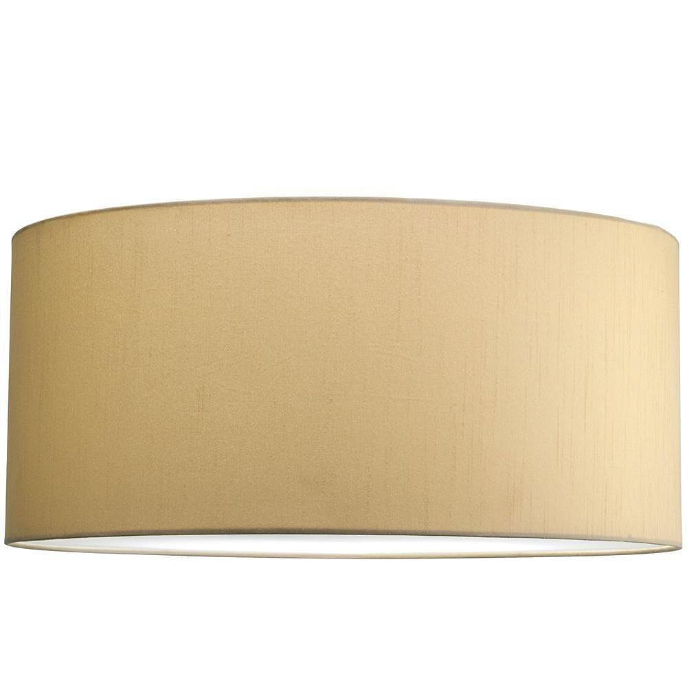 Progress Lighting Markor Collection Beige Silk Accessory Shade