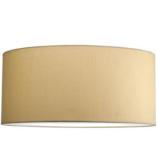 Abat-jour, Collection Markor - fini Soie beige