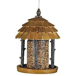 Mangeoire d'oiseaux sauvages Wood Gazebo de