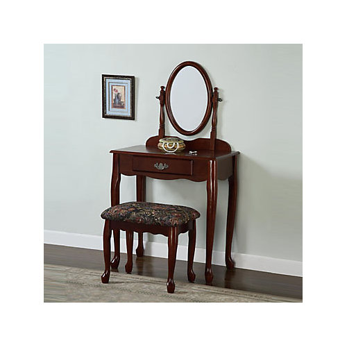 Heirloom Cherry Vanity, Mirror and Bench
