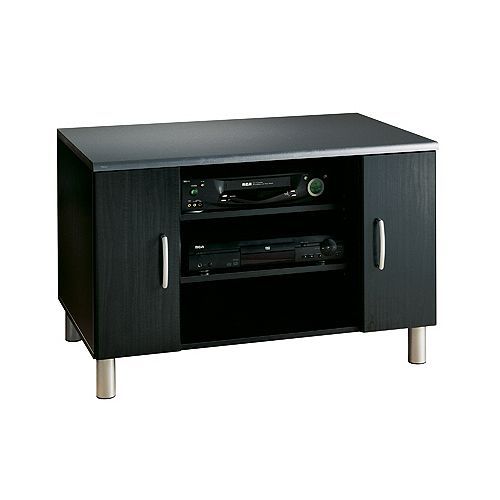 40 In. Tv Stand - Black Onyx & Charcoal