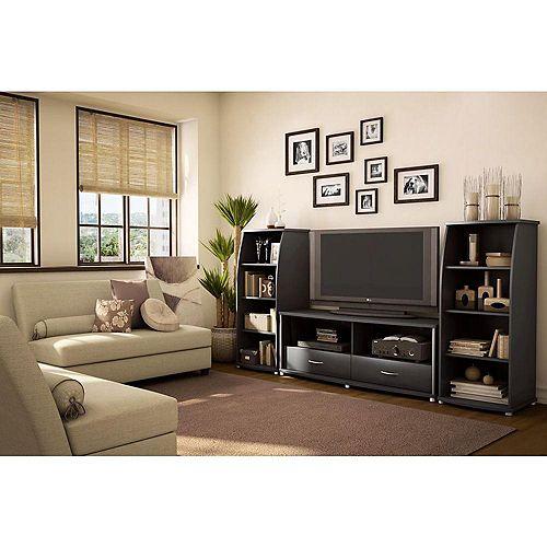 Gateway 60-inch x 22-inch x 20-inch TV Stand in Black