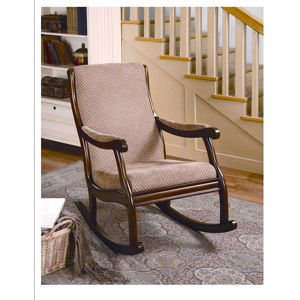 Worldwide Homefurnishings Inc. Geoffrey Rocking Chair
