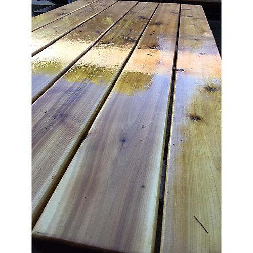 4 ft. x 2 ft. Western Red Cedar Potting Bench