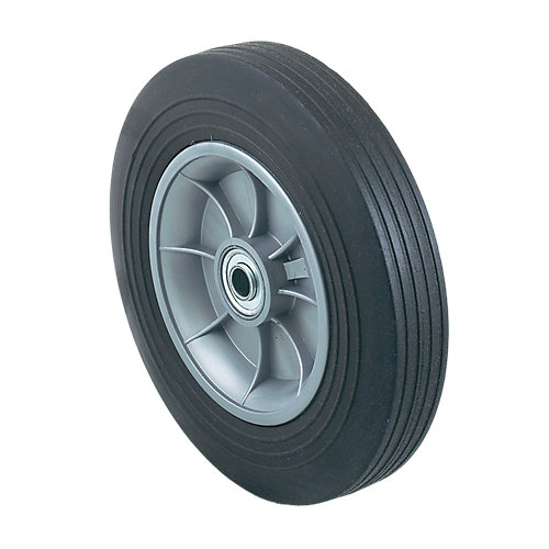 Heavy Duty 10 In. Replacement Solid Rubber Wheel