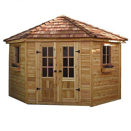 Remise de jardin avec plancher Penthouse - (9 Pi. x 9 Pi.)