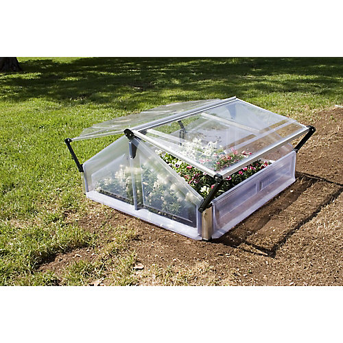 Deluxe Cold Frame 3 ft. x 3 ft. Greenhouse