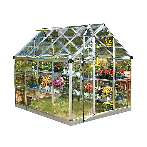 Deluxe Snap N Grow 6 ft. x 8 ft. Greenhouse