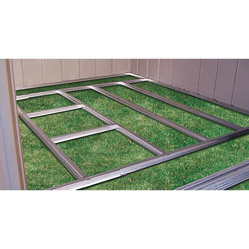 Charpente de plancher prête-à-assembler pour remise Arrow de 3,05 m x 2,44 m (10'x8')