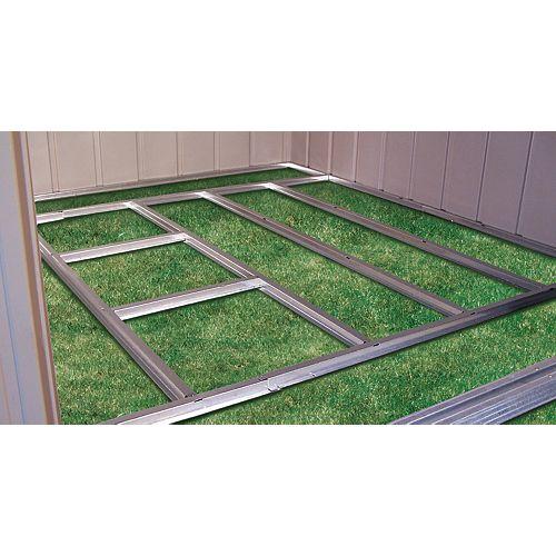 Charpente de plancher prête-à-assembler pour remise Arrow de 3,05 m x 3,66 m (10'x12') et 3,05 m x 4,27 m (10'x14')