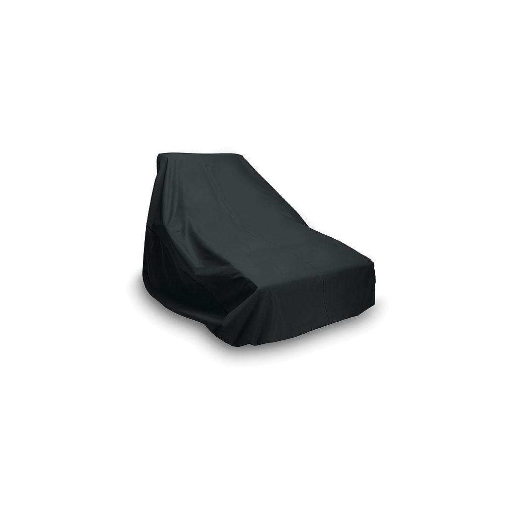 WeatherReady Double Outdoor Chaise Cover in Black