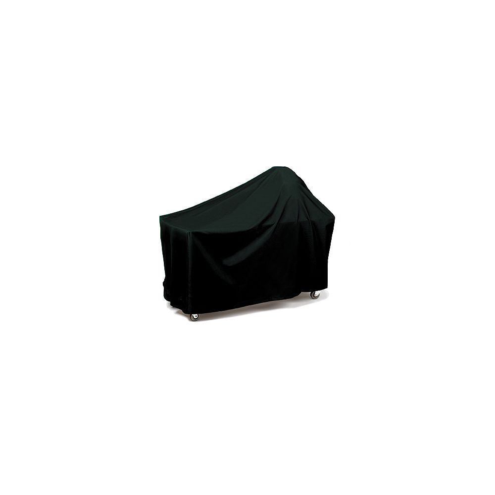 WeatherReady Round Or Egg Shape With Long Table - Black Grill Cover