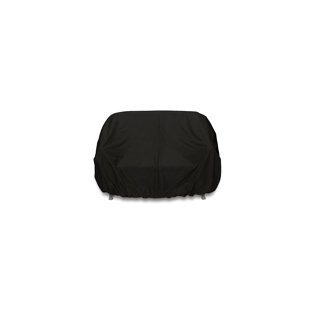 WeatherReady 3-Seat Outdoor Sofa Cover in Black