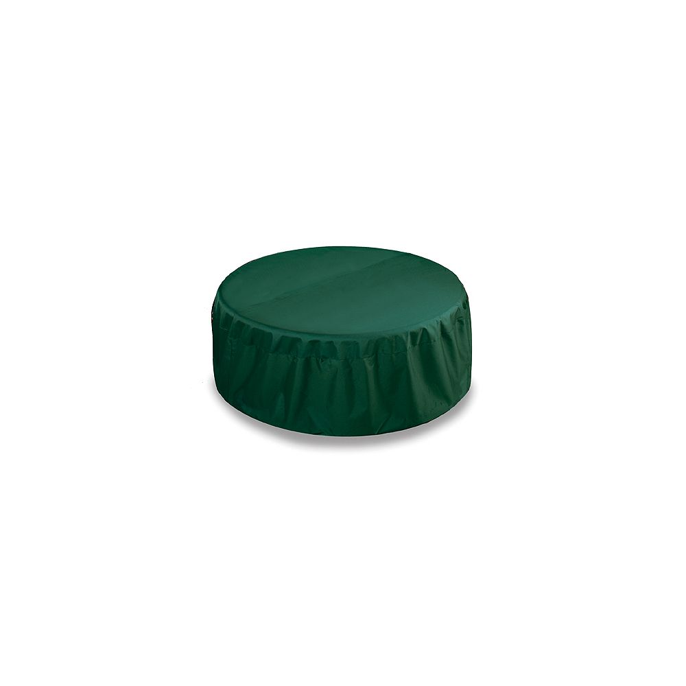 Two Dogs Designs Fire Pit Cover, Hunter Green - 48 Inches