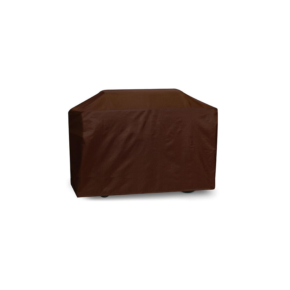 Two Dogs Designs Cart Style, Chocolate Brown Grill Cover - 88 Inches