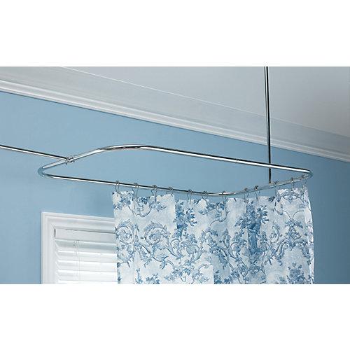 Rectangular Shower Rod