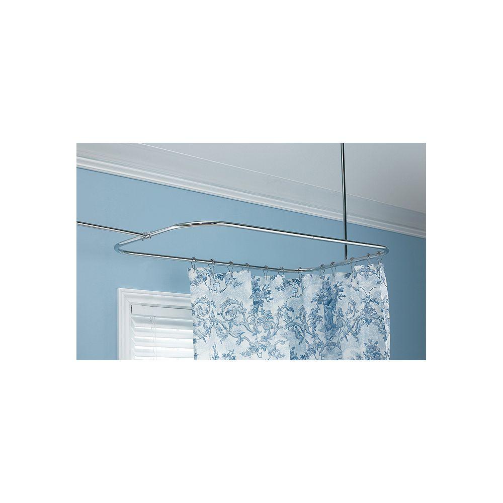 Foremost Rectangular Shower Rod
