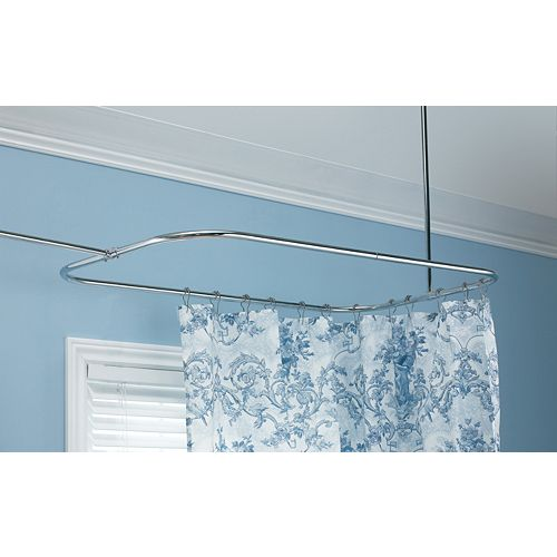 Rectangular Shower Rod