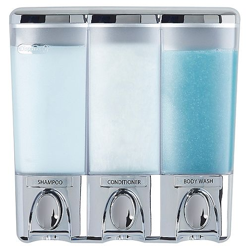 Clear Choice Dispenser 3 Chrome