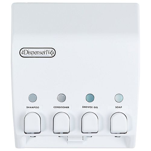 Classic Dispenser 4 White