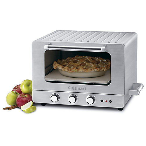 Stainless Steel Countertop Brick-Convection Oven  0.9 Cubic Foot