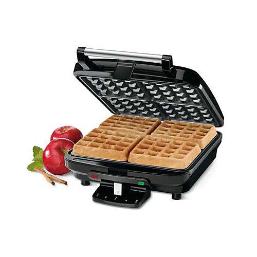 4 Slice Belgian Waffle Maker