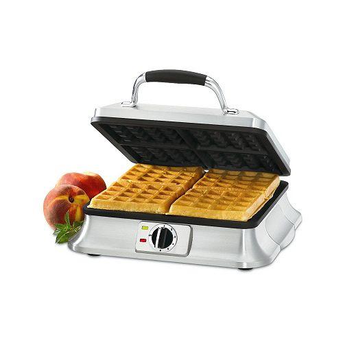 4-Slice Belgian Waffle Iron
