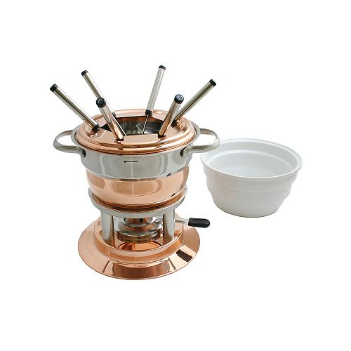 Lausanne Copper Fondue Set