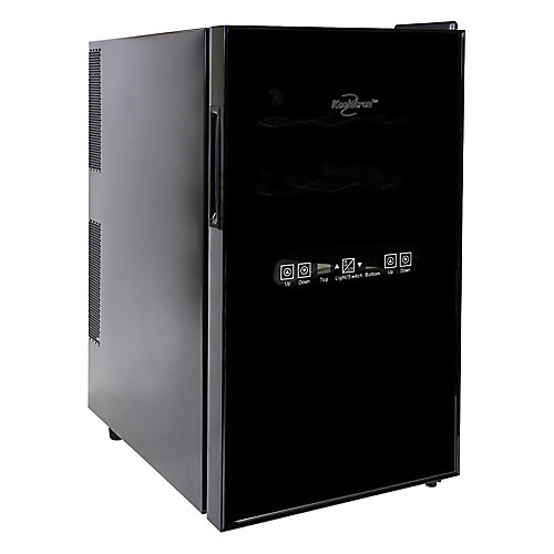 Dual Zone 18-Bottle Thermoelectric Wine Cellar